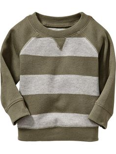 Striped Textured-Rib Tees for Baby Product Image