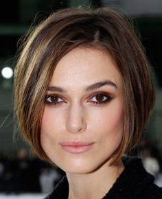 Diggin this makeup. Keira Knightly - brown smoky eye makeup