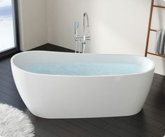I could take a beautiful bubbly soak in this tub.