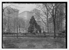 Madison Sq. Xmas tree - 1913 (LOC) by The Library of Congress, via Flickr