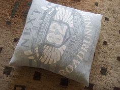 envelope fold t-shirt cushion tutorial