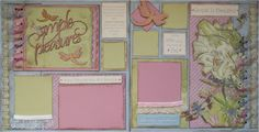 Scrap Collections Design Team: PURE BLISS: Class Notes By Michelle van Wyk