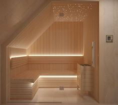 People have been enjoying the benefits of saunas for centuries. Spending just a short while relaxing in a sauna can help you destress, invigorate your skin Home Spa Room, Spa Rooms, Spa Interior, Bathroom Interior Design, Jacuzzi, Sauna Lights, Building A Sauna, Traditional Saunas, Dry Sauna