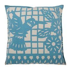 Papel Picado Inspired Humingbird Pillow