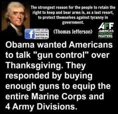 Obama: Best gun salesman ever!
