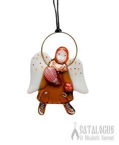 Festive angel glass pendant, Special Price $12.00, #souvenir #gift #present #glass #handmade #life #good #creative #inspiration #catalogofgooddeed  #handmade #angel