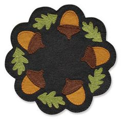 Acorn Grab 'n Go Candle Mat Kit