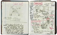 David Wojnarowicz's journal Notebook Stories: A Blog About Notebooks, Journals, Moleskines, Blank Books, Sketchbooks, Diaries and More