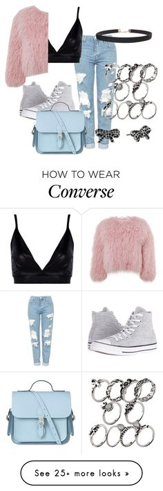 """What do you have a problem"" by luiza-garcia101 on Polyvore featuring Topshop, Boohoo, Charlotte Simone, Converse, The Cambridge Satchel Company, Humble Chic and Marc Jacobs"