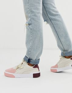 Shop the latest Puma Cali Remix cream color block sneakers trends with ASOS! Free delivery and returns (Ts&Cs apply), order today! Puma Cali, Baskets, Aesthetic Shoes, Puma Sneakers, Asos Online Shopping, Latest Fashion Clothes, Me Too Shoes, Trainers, Shoe Boots