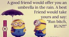 20 Funniest Minions Friendship Quotes Images with funny minions hd wallpapers , Minions Quotes Collection for best friends .Despicable Me funny quotes images Valentines Day Quotes For Friends, Best Birthday Quotes, Birthday Quotes For Best Friend, Best Friend Quotes, New Quotes, Funny Quotes, Funny Birthday, Birthday Nails, Birthday Bash