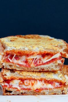 13 Grown-Ass Grilled Cheese Recipes via @PureWow