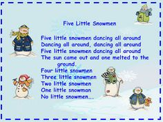 Snowman Songs (2 on this site)