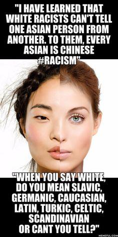 How ethnicities work. #ShotsFired