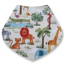 Jungle bandana dribble bib from Dribblebuster