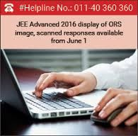 JEE Advanced 2016 ORS Display: The IIT Guwahati has released the optical Responce Sheet and the Scanned responses for JEE Advanced 2016 examination.