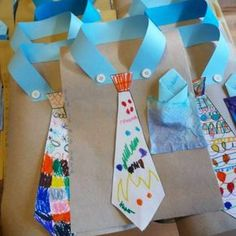 Fathers Day Crafts for Preschoolers, Toddlers and kids of all ages. Easy Crafts for Kids to Make for Dad for Father's Day or his Birthday #craftsforkids #giftsfordad #momhacks