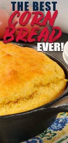 Looking for a totally delicious cornbread recipe? This Bisquick cornbread is by far the best cornbread recipe I have tasted. Its a cornbread recipe my mom gave me years ago and Ive been making it with every pot of my favorite chili soup and BBQ ever Easy Cornbread Recipe, Homemade Cornbread, Sweet Cornbread, Cornbread Salad, Buttermilk Cornbread, Cornbread Dressing, Biscuit Mix, Biscuit Recipe, Bisquick Recipes Biscuits