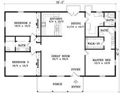 Plan #1-789 - Houseplans.com