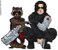 Marvel's Raccoons | Rocket Raccoon and The Winter Soldier
