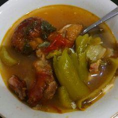 Kiam Chai Soup with Roasted Pork Leg  Delicious Level 999