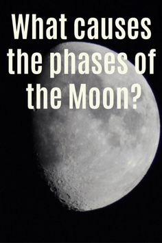 What causes the phases of the moon? What's a lunar year? Why do we only see one side of the moon? Find out with these fun activities. Space Activities For Kids, Moon Activities, Printable Activities For Kids, Hands On Activities, Science Experiments Kids, Science For Kids, Science Ideas, Activity Ideas, Learning Place