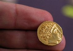2300 year old gold coin of Alexander the Great found in Bulgaria