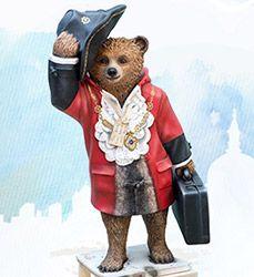 Paddington Trail Bears - Celebrity Designers & More - visitlondon.com The Mayor of Paddington by Costain Skanska and the Paddington Partnership