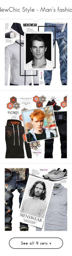"""NewChic Style - Man's fashion"" by mymilla on Polyvore featuring men's fashion, menswear, Kinder GROUND, Post-It, Chanel, Kiehl's, DUO, newchic e lovenewchic"