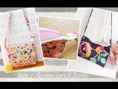 ファスナーと布だけ★ファスナーつきポシェットの作り方★ how to make a crossbody zipper bag Zipper Bags, Zipper Pouch, Sewing Tutorials, Sewing Patterns, Pencil Case Tutorial, Cosmetic Pouch, Bag Making, Wire Frame, Crossbody Bag