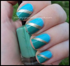 BeautyGnome: Color Blocking with Barielle Swizzle Stix and Sweet Addiction