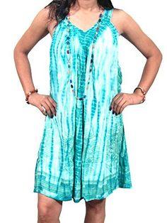 Womens Dress Dashiki Tie Dye Caftan Dresses Cover Up Mogul Interior http://www.amazon.com/dp/B016WEPBF6/ref=cm_sw_r_pi_dp_bcAtwb1Z7A368