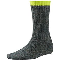 Camping Hiking : Men's Clothing :Smartwool Adventurer Sock - Men's Bottle Green / Taupe XL ** A special product just for you. See it now!
