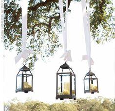 Hanging lanterns (: