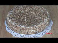 торт наполеон  с сметаной