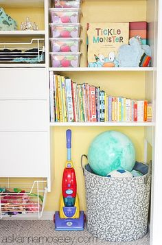 What a nice system! Organized kids closet - Ask Anna
