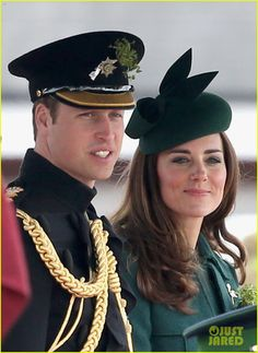 Kate Middleton Goes Green for St. Patrick's Day Parade with Prince William! | kate middleton prince william st patricks day parade 02 - Phot...