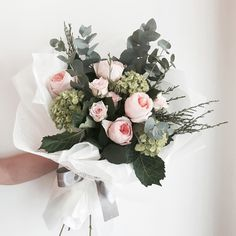수국 줄리엣 꽃다발 : 라비에벨