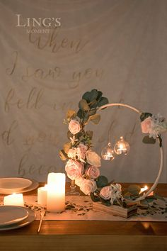 Fall wedding floral decor - pre-made wedding centerpieces with LEDs 10 Rab . Fall wedding flower decor - pre-made . Fall Wedding Bouquets, Floral Wedding, Rustic Wedding, Wedding Flowers, Autumn Wedding, Boho Wedding, Wedding Shoes, Dream Wedding, Sweet 16 Centerpieces