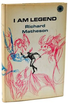 This is the first hardcover edition of I am Legend by Richard Matheson from 1970. It was originally published in paperback in 1954.  #vintage #book