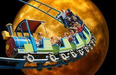 Roller Coaster, Moonlight, Funny