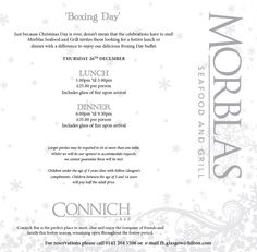 Just because Christmas Day is over, doesn't mean the celebrations have to end! Call 0141 204 5506 or email fb.glasgow@hilton.com for Boxing Day reservations.