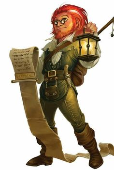 Gnome Wizard - Pathfinder PFRPG DND D&D d20 fantasy