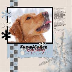 Snowflakes - Scrapbook.com