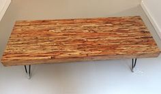 Paralam coffee table   Toso Wood Works