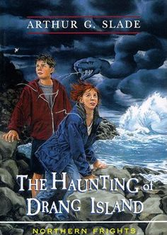 Original cover for The Haunting of Drang Island