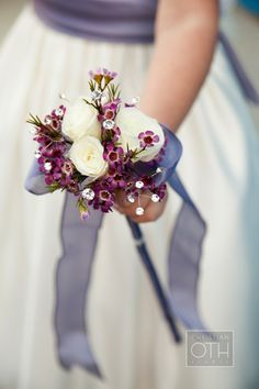 Ribbon Wand carried by the Flower Girl ~ so pretty! http://StyleMePretty.com/2012/04/19/new-york-wedding-at-the-angel-orensanz-foundation-by-christian-oth-studio/ Photography by christianothstudio.com, Floral Design by thelittleflowershopoflindenhurst.com