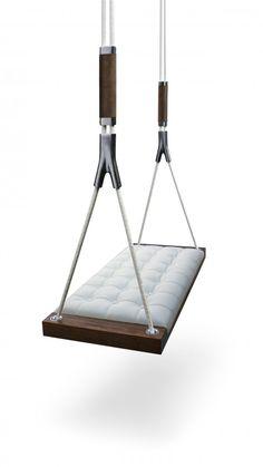 Upholstered interior swing