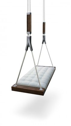 Upholstered interior swing