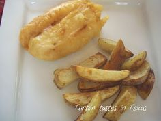 Tartan Tastes in Texas: Scottish Recipes - Battered Fish and Chips